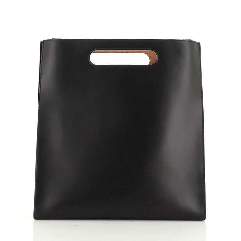 Gucci XL Tote Leather Large In Good Condition For Sale In New York, NY