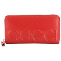 Gucci XL Zip Around Wallet Leather