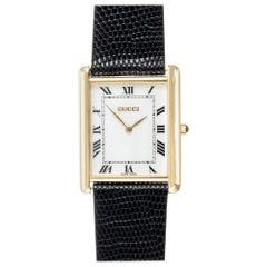 Gucci Yellow Gold Men's Wristwatch