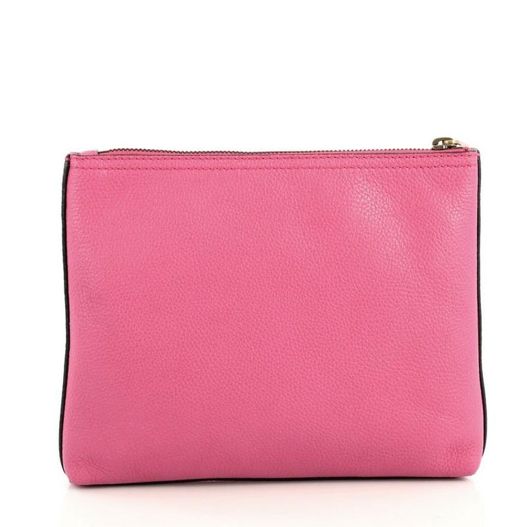 Women's or Men's Gucci Zipped Pouch Printed Leather Small