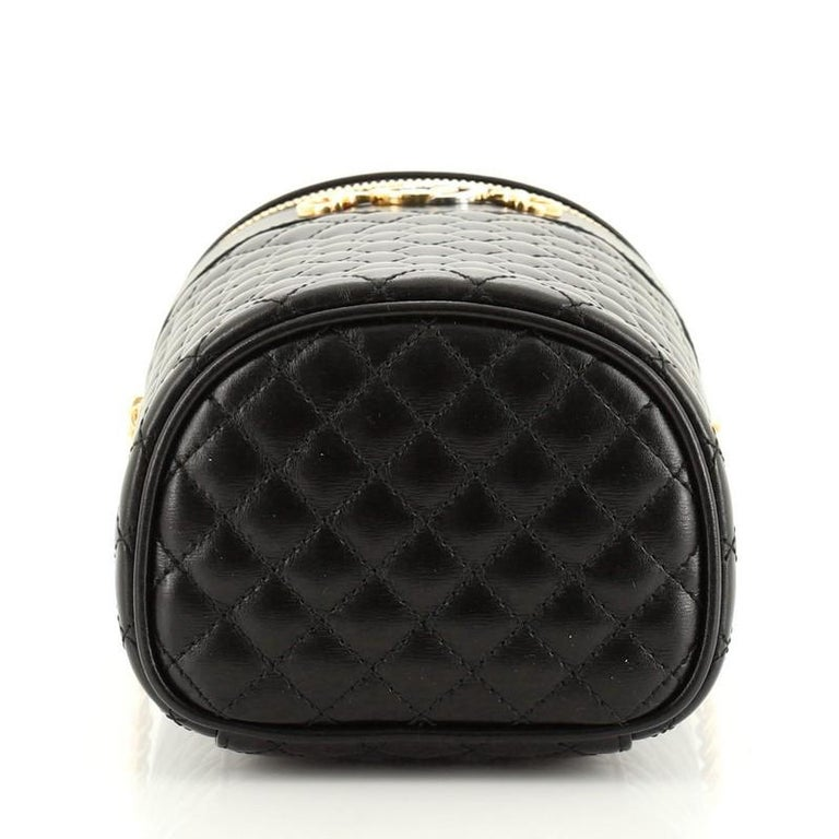 Women's or Men's Gucci Zumi Cylindrical Belt Bag Quilted Leather For Sale
