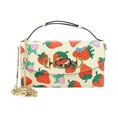 Gucci Zumi Shoulder Bag Printed Leather Small