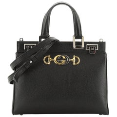 Gucci Zumi Top Handle Bag Leather Small