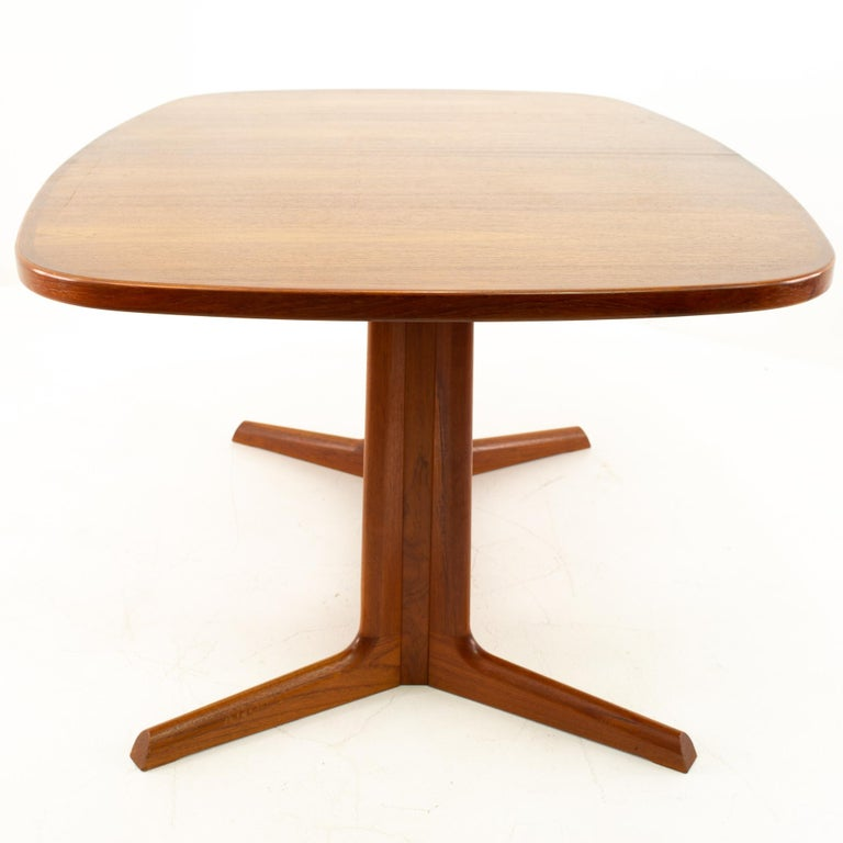 Gudme Mobelfabrik Midcentury Dining Table with 2 Leaves 1