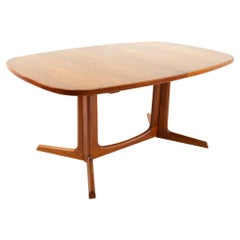 Gudme Mobelfabrik Midcentury Dining Table with 2 Leaves