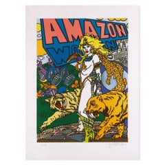 Amazon, Pop Art, Figuration Narrative, Contemporary Art