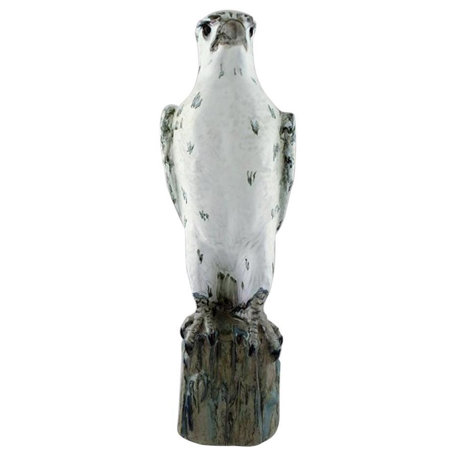 Gudmundur Mar Einarsson B. Middal 1895 D. 1963, Icelandic Falcon of Art Pottery