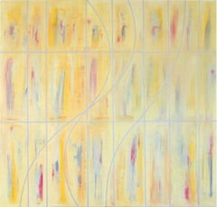 """Gudrun Mertes-Frady """"DAY_DREAM"""" -- Large Abstract Painting on Canvas"""