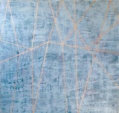 "Gudrun Mertes-Frady ""ANAHITA"" -- Large Abstract Painting on Canvas"