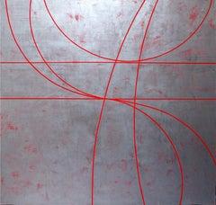 "Gudrun Mertes-Frady ""CELEBRATION"" -- Large Abstract Painting"
