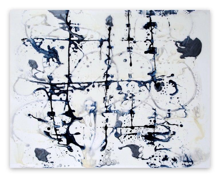 Gudrun Mertes-Frady Abstract Painting - Trellis