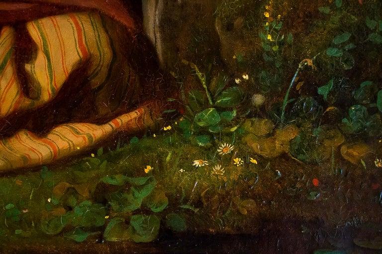 Gué Julien Michel, Oil on Canvas