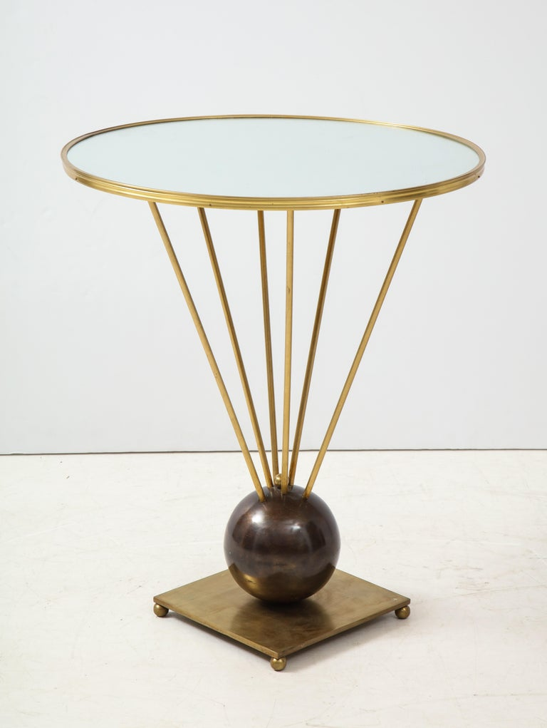 Guéridon Side Table Attributed to John Vesey For Sale 4