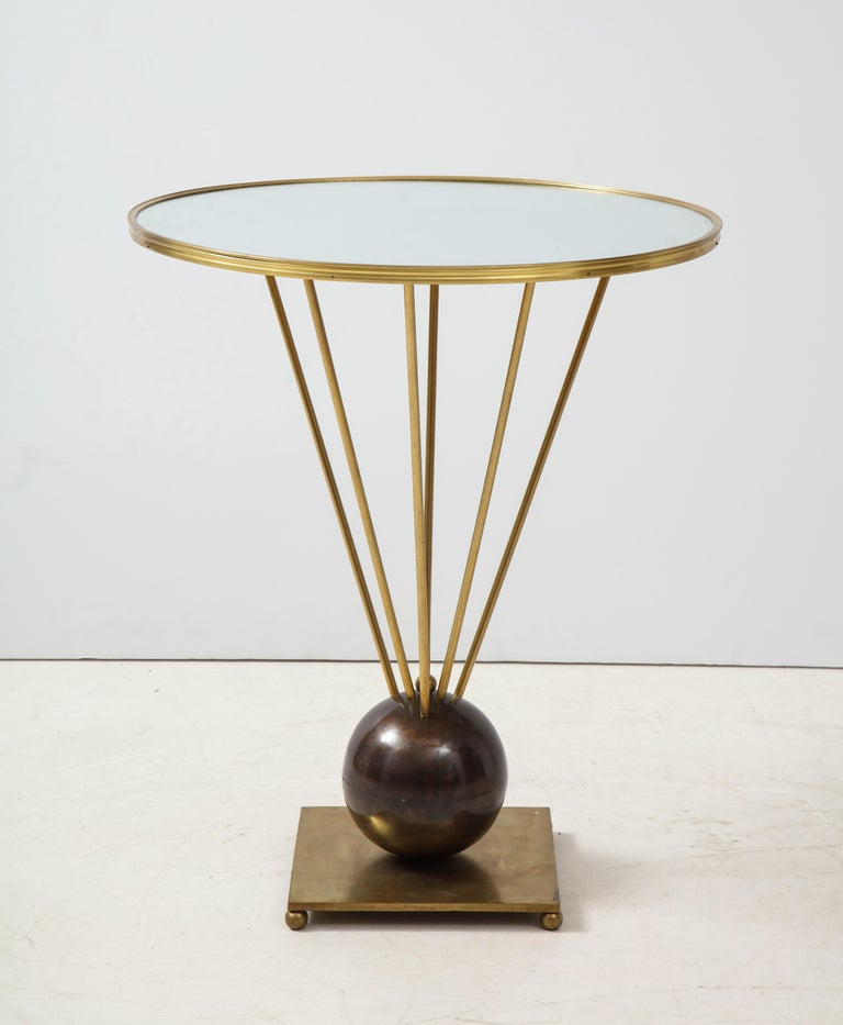 Guéridon Side Table Attributed to John Vesey For Sale 5