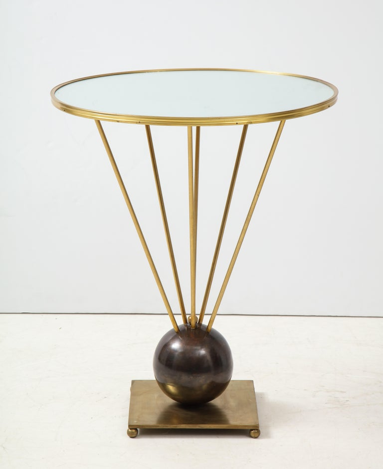 20th Century Guéridon Side Table Attributed to John Vesey For Sale