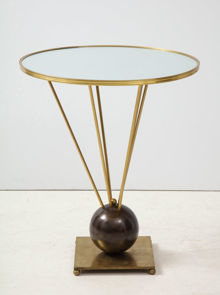 Guéridon Side Table Attributed to John Vesey For Sale 2