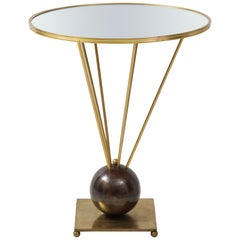 Guéridon Side Table Attributed to John Vesey