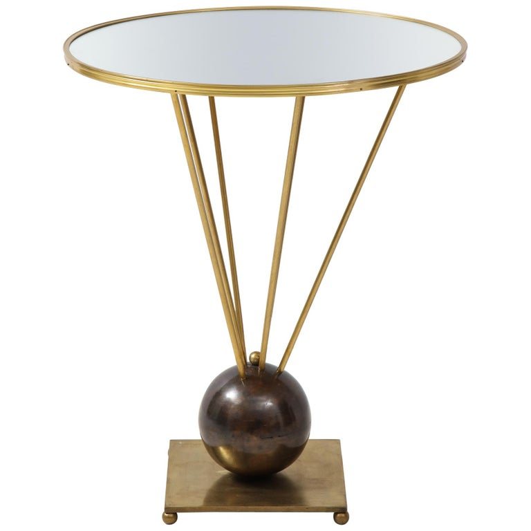 Guéridon Side Table Attributed to John Vesey For Sale