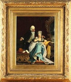 Antique 19th Century Guerrino Guardabassi Painting
