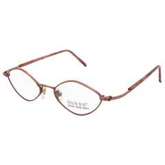Guess vintage art deco eyeglasses frame