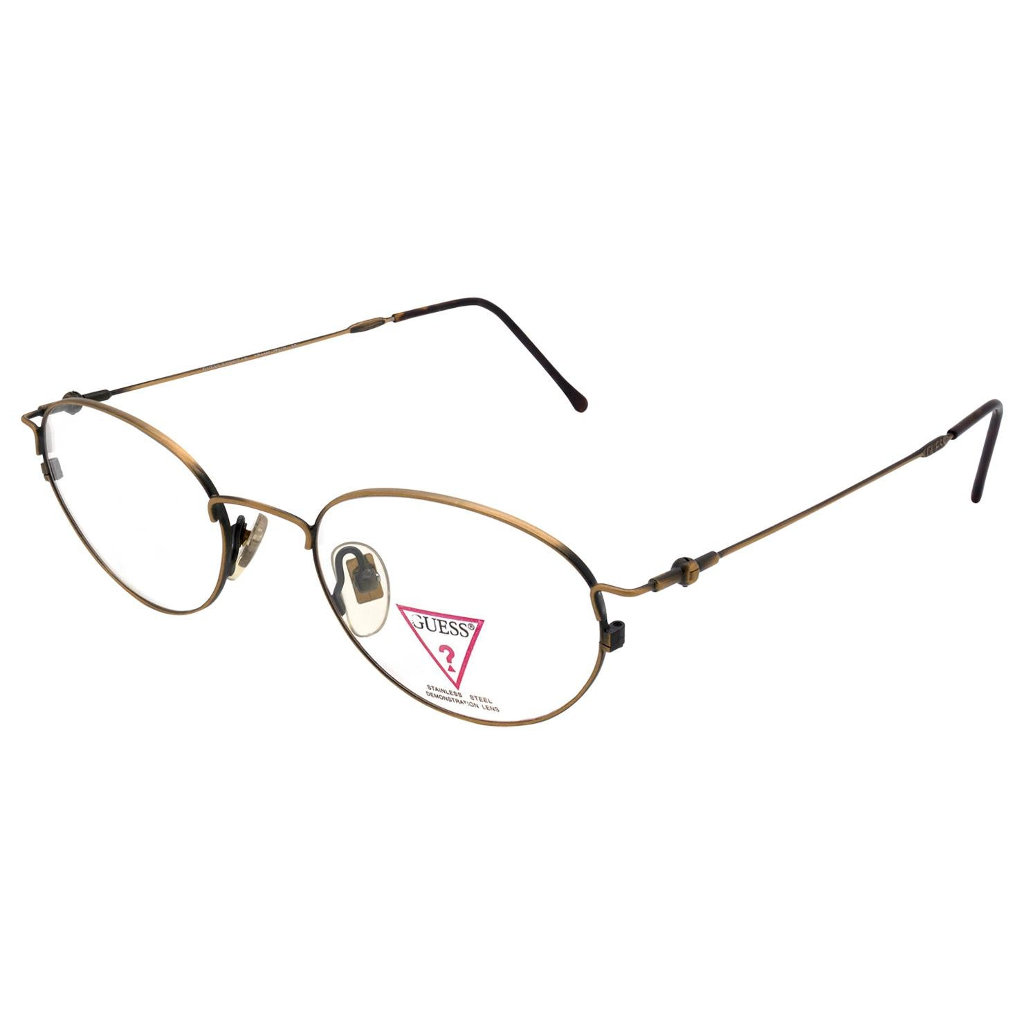 Guess vintage eyeglasses frame art deco