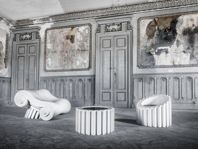 Contemporary GUFRAM Attica Armchair by Studio 65 For Sale