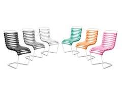 Gufram Bounce Chair, Custom Order: 10 White, 8 Green, 8 Orange & 8 Pink
