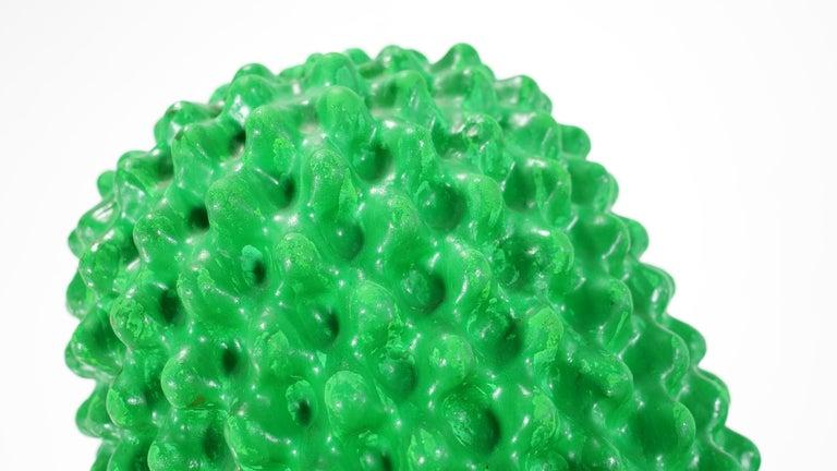 Gufram Kaktus, 1972 von Guido Drocco und Franco Mello 640/2000 Original Grün 11