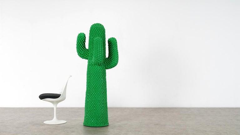 Gufram Kaktus, 1972 von Guido Drocco und Franco Mello 640/2000 Original Grün 12
