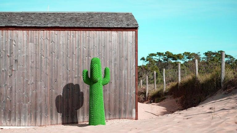 Gufram Kaktus, 1972 von Guido Drocco und Franco Mello 640/2000 Original Grün 14