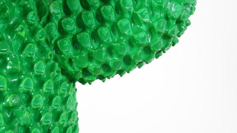 Gufram Kaktus, 1972 von Guido Drocco und Franco Mello 640/2000 Original Grün 16