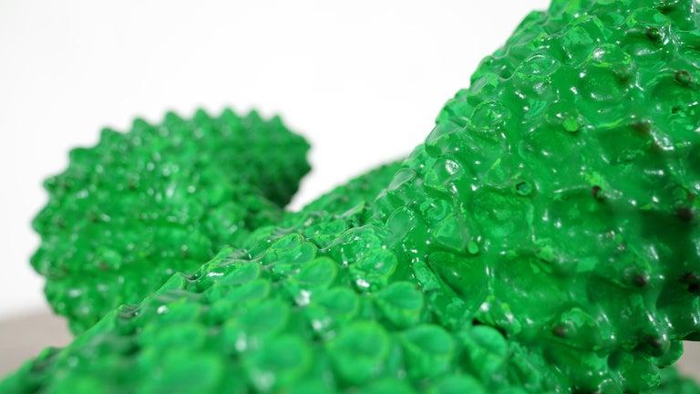 Gufram Kaktus, 1972 von Guido Drocco und Franco Mello 640/2000 Original Grün 20
