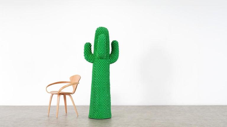 Gufram Kaktus, 1972 von Guido Drocco und Franco Mello 640/2000 Original Grün 7