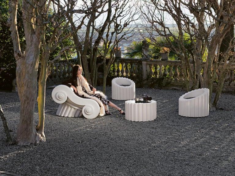 Italian GUFRAM Capitello Chaise Lounge by Studio 65 For Sale