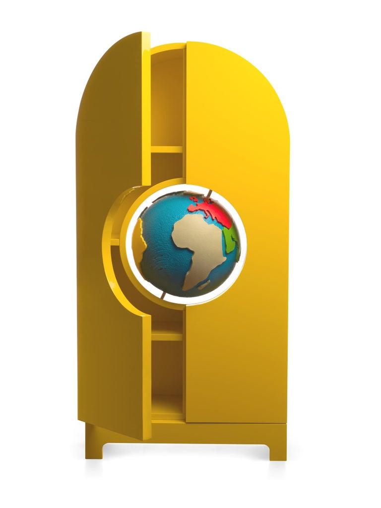 Modern GUFRAM Globe Cabinet by Studio Job For Sale