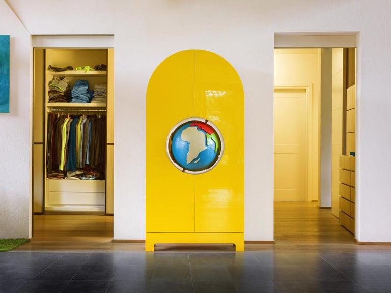 GUFRAM Globe Cabinet by Studio Job In New Condition For Sale In Barolo, IT