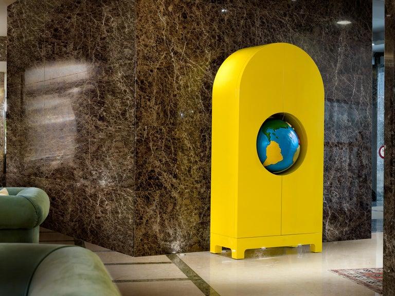Contemporary GUFRAM Globe Cabinet by Studio Job For Sale