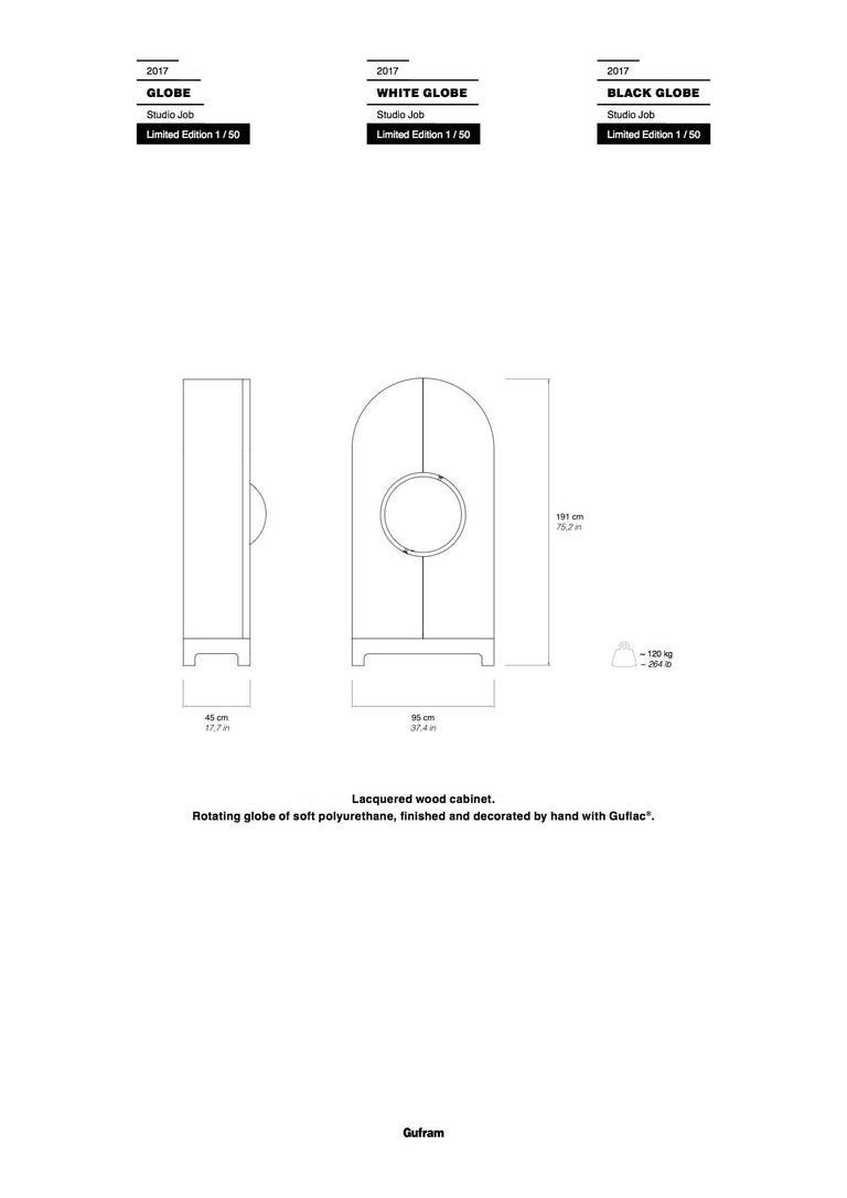GUFRAM Globe Cabinet by Studio Job For Sale 1