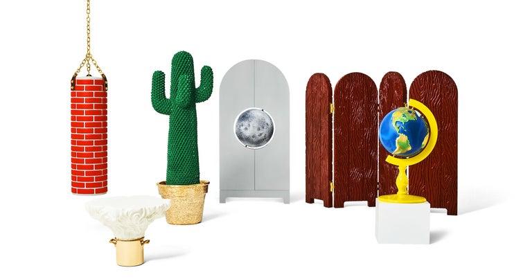 Italian SUPER GUFRAM Job Cactus by Studio Job For Sale