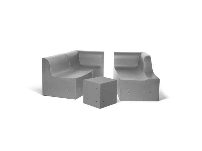 To transform concrete in a soft and comfortable material, so comfortable as to become a couch. From Auguste Perret's pioneering approach, moving through Le Corbusier's Copernican revolution, to Tadao Aando's purity, the use of concrete in