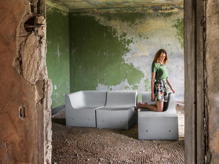 Gufram Softcrete Sofa Set by Ross Lovegrove For Sale 1