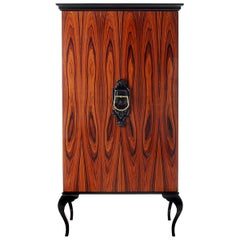 Guggenheim Cabinet in Lacquered Wood