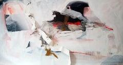 Narativa de Batalha 07 Indjia, Painting, Acrylic on Canvas