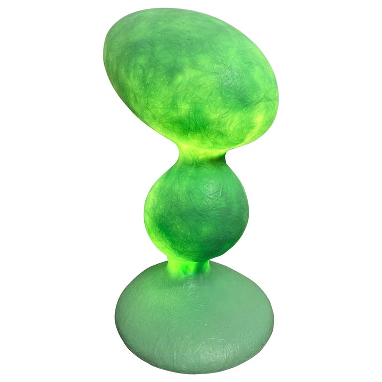Guglielmo Berchicci for Kundalini ETA Fiberglass Table Lamp For Sale