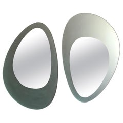 Guglielmo Berchicci Italian Wall Mirrors Model Venus for Glas Italia, 1980s