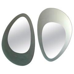 Guglielmo Berchicci Italian Wall Mirrors Model Venus for Glas Italia, 1980s