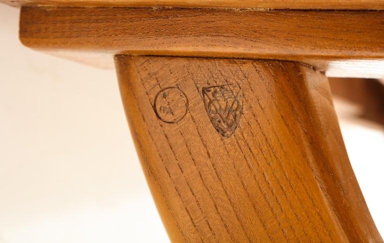 Guglielmo Pecorini Extension Dining Table For Sale 7