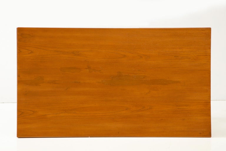 Guglielmo Pecorini Extension Dining Table In Excellent Condition For Sale In New York, NY