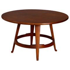 Guglielmo Ulrich Midcentury Coffee Table in Hardwood, 1946