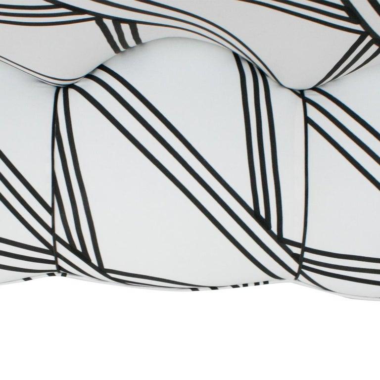 Guglielmo Veronesi for ISA Bergamo Mid-Century Modern Italian Perla Sofa For Sale 4